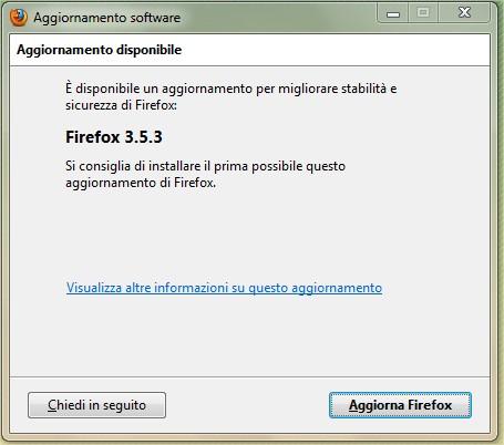 Firefox si aggiorna ed arriva la versione 3.5.3