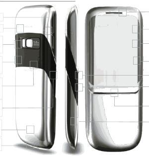 Nokia-erdos lusso nokia serie 8xxx