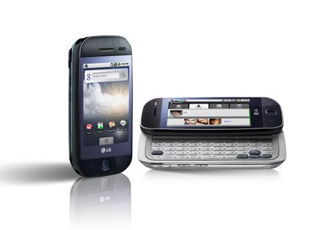 LG annuncia il primo smartphone Android