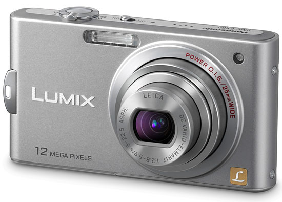 Panasonic Lumix DMC-FX60, l'ultra compatta