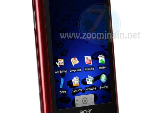 Acer Liquid: il nuovo smartphone basato su Android