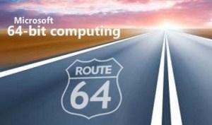 MS 64bit Computing