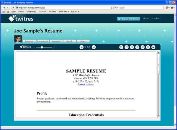 Trovare lavoro con Twitter: Come Condividere il Curriculum Vitae