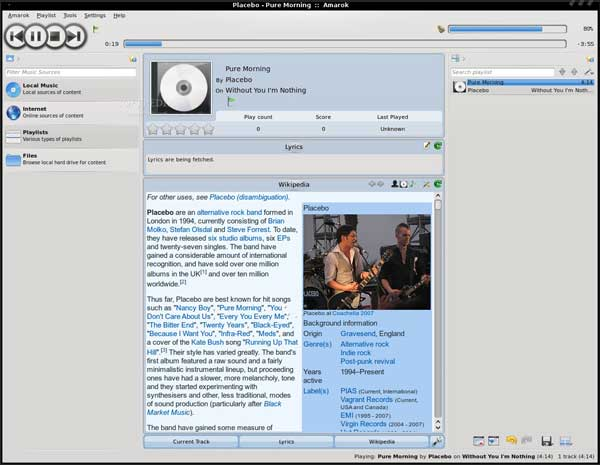 amarok-2.2-sunjammer-final-release-interfeccia-utente