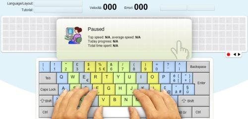 keybr impara a scrivere con 10 dita
