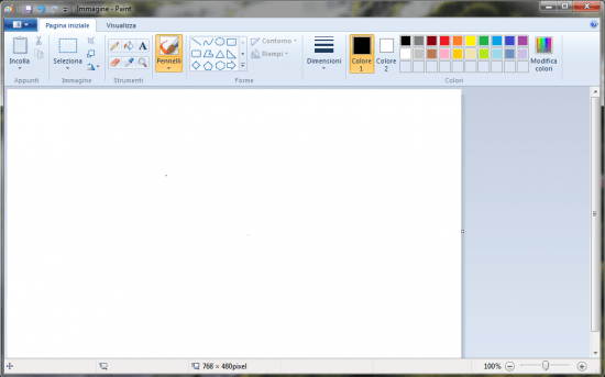 Windows 7: Paint Completamente Ridisegnato