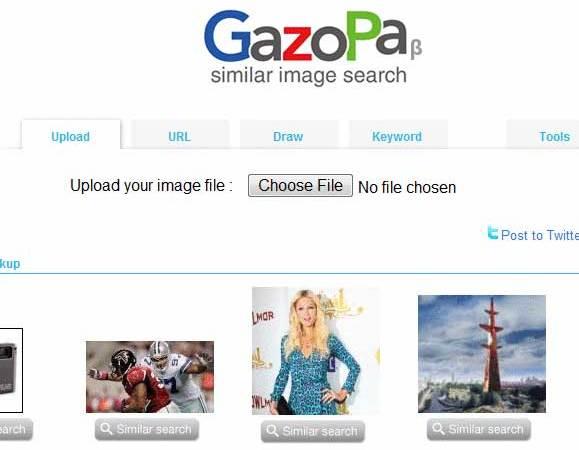Ricercare Immagini Somiglianti con GazoPa