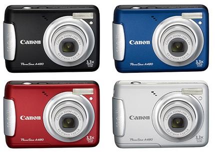 Recensione Canon Powershot A480