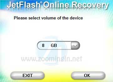 jetflash recovery penna usb