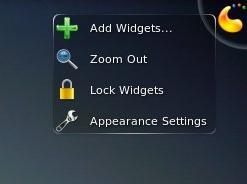 kde widget