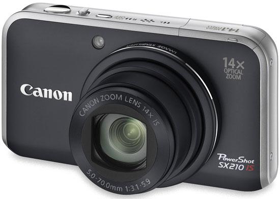 Canon presenta la superzoom PowerShot SX210 IS