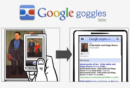 Google lancia il nuovo servizio Goggles