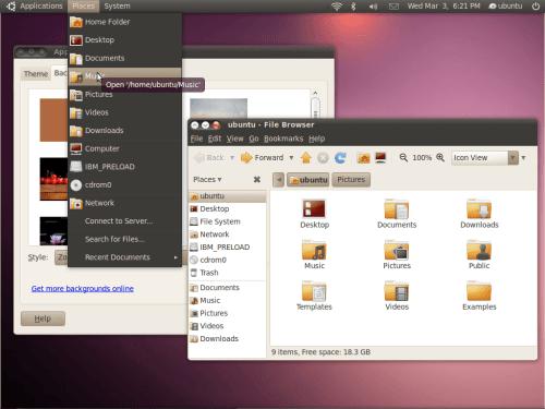 dark theme ubuntu