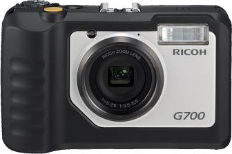 Ricoh G700, la Compatta Resistente alla polvere e acqua per Professionisti