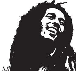 Bob Marley immagine vettoriale