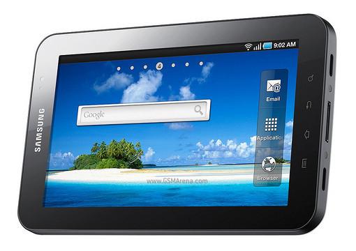 Samsung P1000 Galaxy Tab: è ufficiale.
