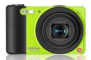 Pentax Optio RZ10 fotocamera compatta super zoom colore lime
