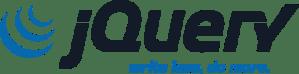 jQuey logo scrivi meno e fai di più