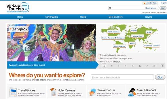 Virtual tourist guide turistiche web