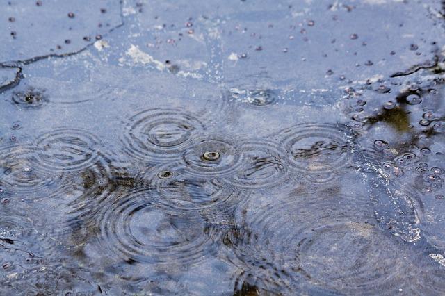 Per Prendere Meno Pioggia Si Deve Correre?