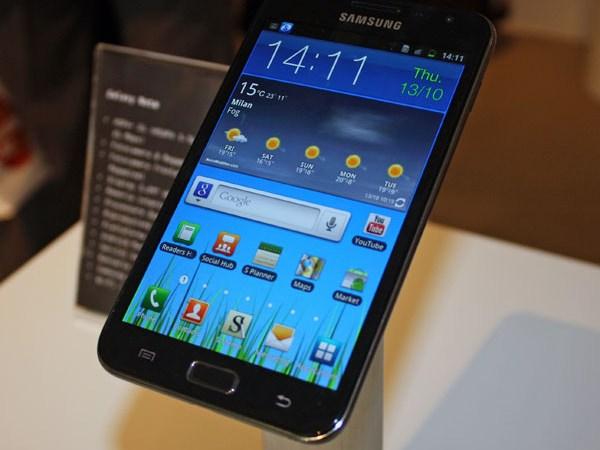 Samsung Galaxy Note ora in Vendita anche in Italia
