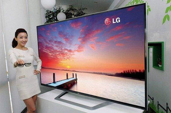 LG da 84 pollici con Risoluzione 4K sul Mercato nel 2012