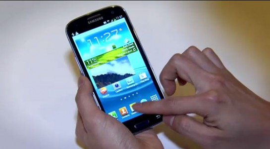 Samsung Galaxy S3 Specifiche Tecniche e Primi Video