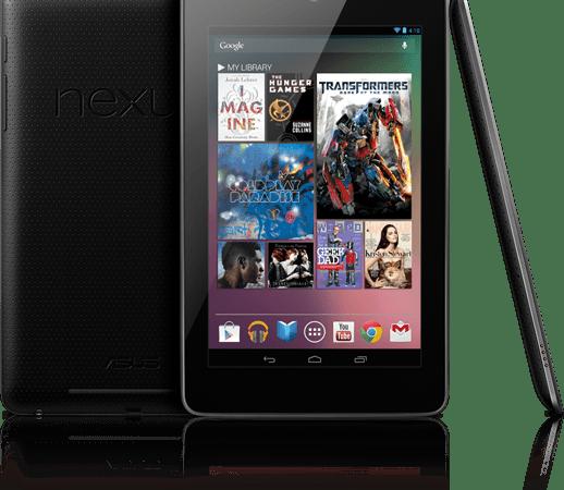 Nexus 7, Ecco Finalmente il Primo Tablet di Google