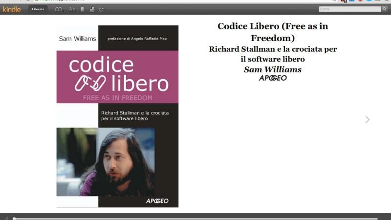 Kindle Cloud Reader, Amazon Lancia in Italia la Lettura Online