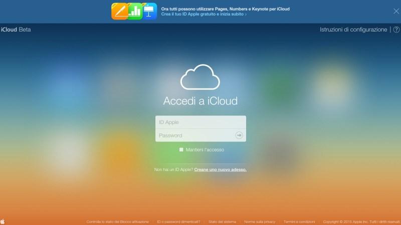 iWork per iCloud disponibile anche a chi non ha dispositivi Apple