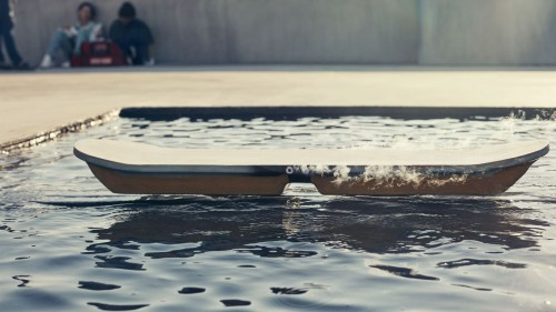 The Lexus Hoverboard water