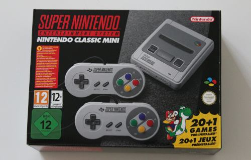 SNES Classic Mini unboxing