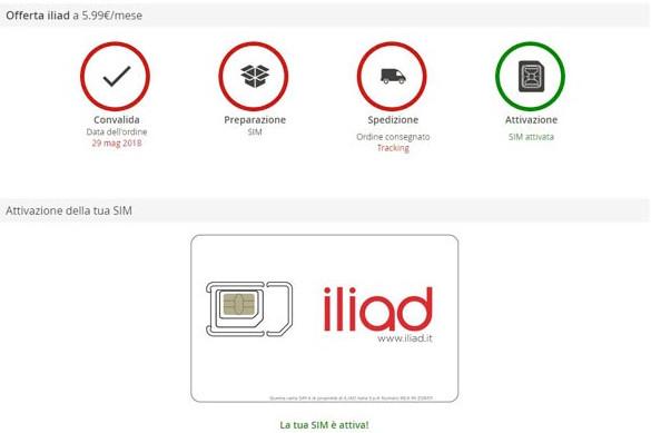 Come attivare la nuova SIM Iliad e configurare gli APN