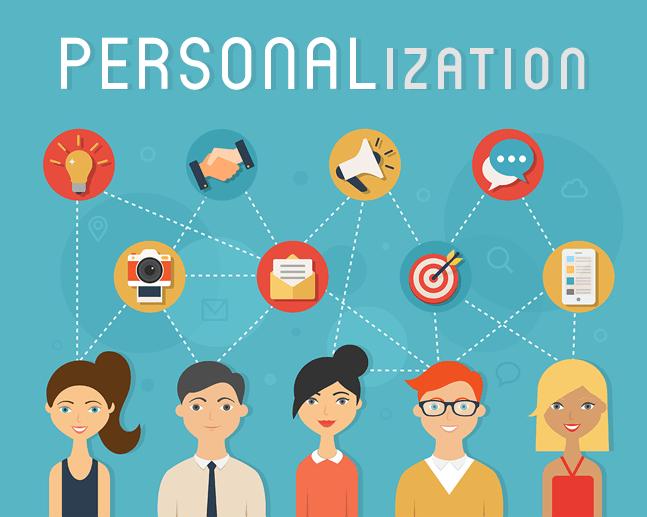 Image 1e.e. Personalization