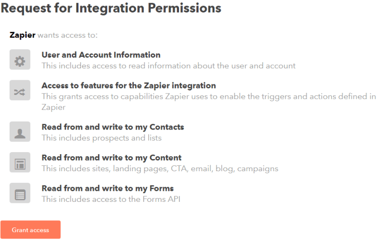 Image 1h.g. Zapier HubSpot CRM Integration