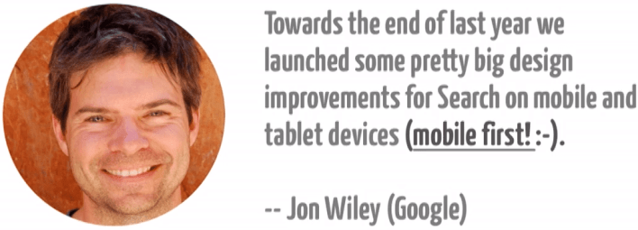 1i.b. Jon Wiley About Google's Mobile-First Design Strategy