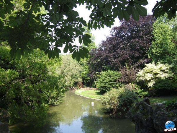 Parcs et jardins for Jardin vauban lille