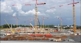 Travaux du Grand Stade Lille Métropole - Août 2010