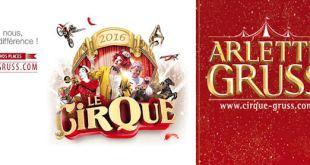 Du 09 au 13 novembre 2016, le Cirque Arlette Gruss est à Villeneuve d'Ascq
