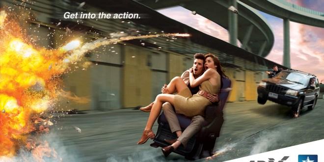 Kinepolis introduit la 4DX pour une expérience cinématographique inédite