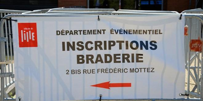 Braderie de Lille 2018 : les inscriptions aux guichets sont ouvertes