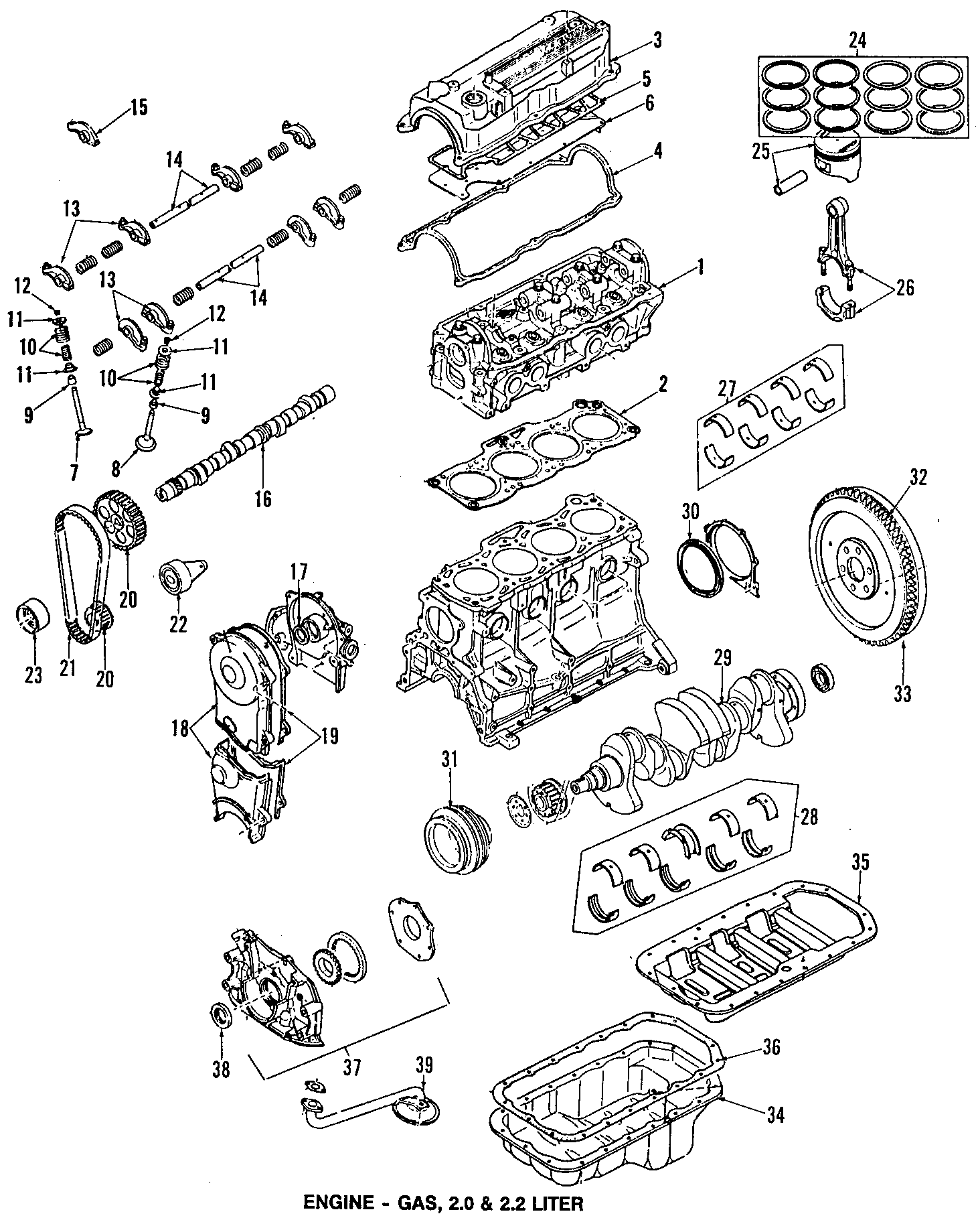 Mazda B Engine Timing Crankshaft Sprocket 626