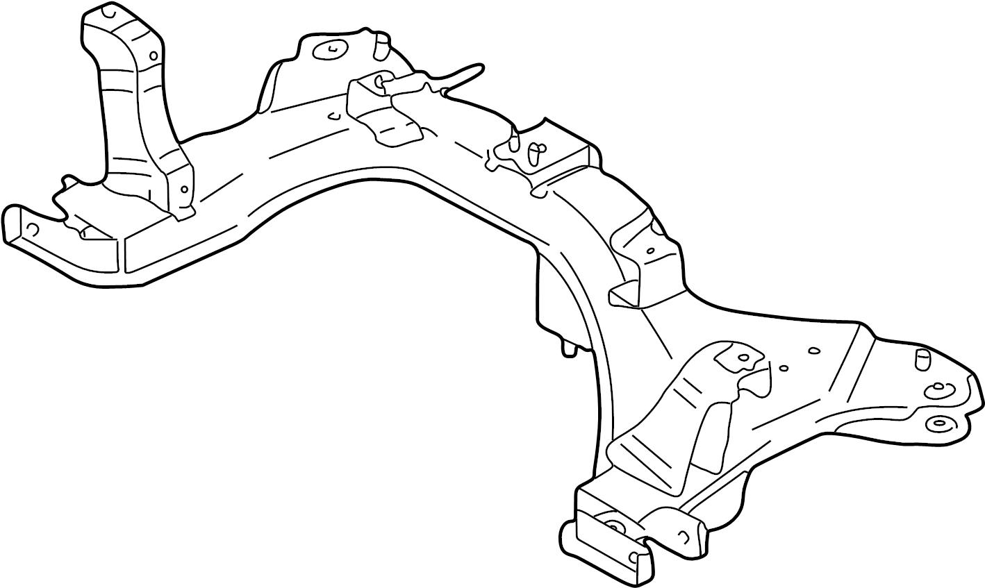 Mazda Tribute Crossmember Engine Cradle Can Not Order