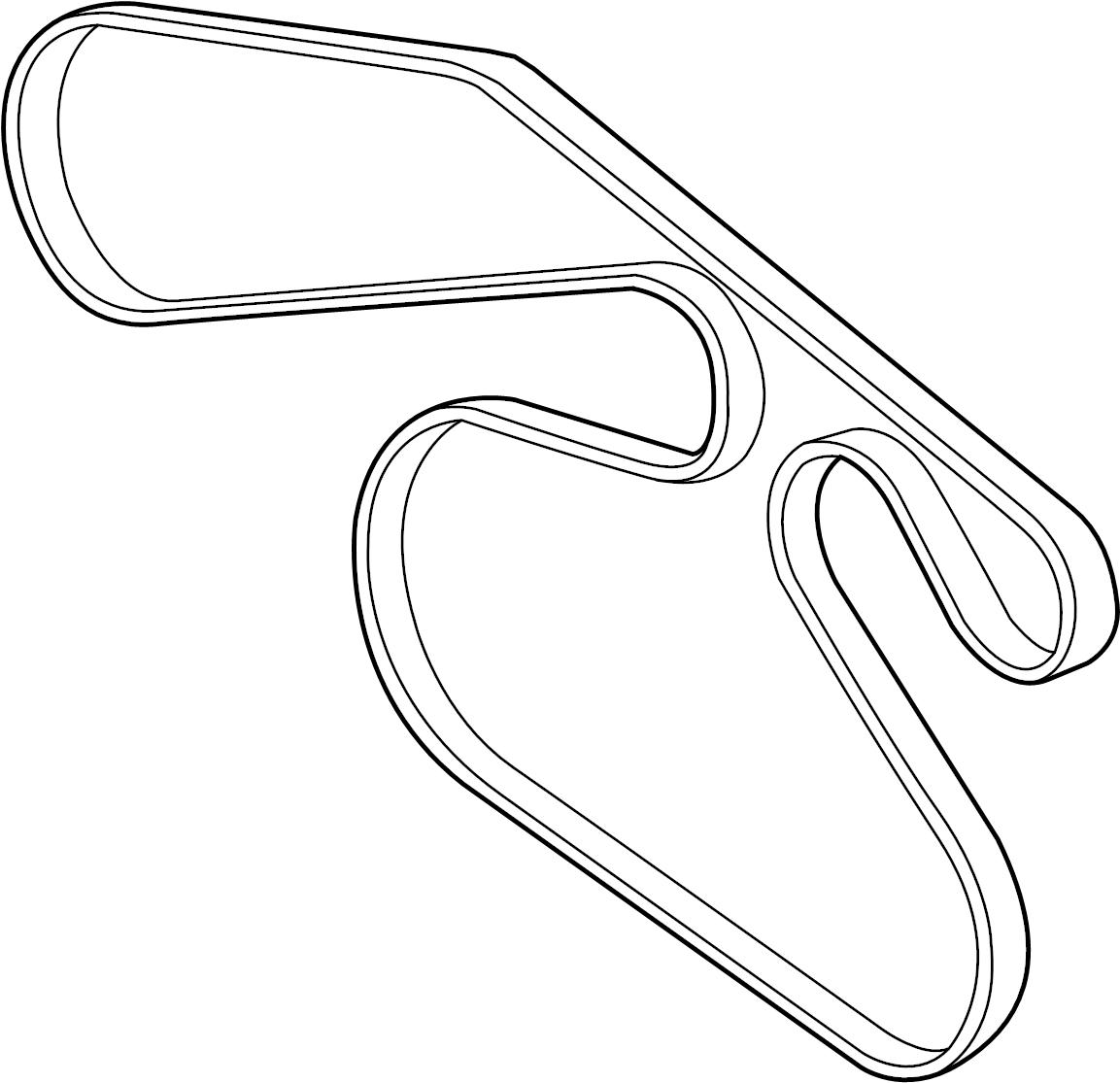 Mazda 6 Alternator Belt Belt V Serpentine Belt 3 0