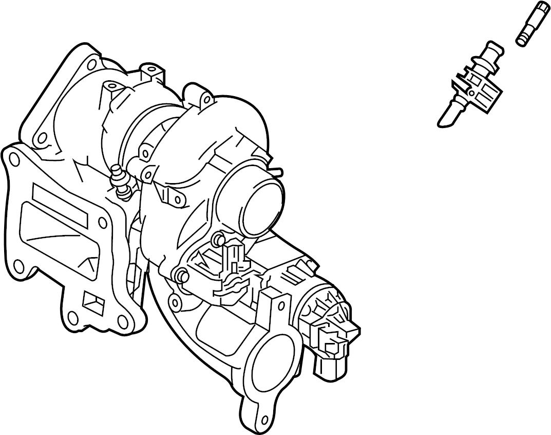 Mazda Cx 9 Turbocharger Brackets Liter Engine