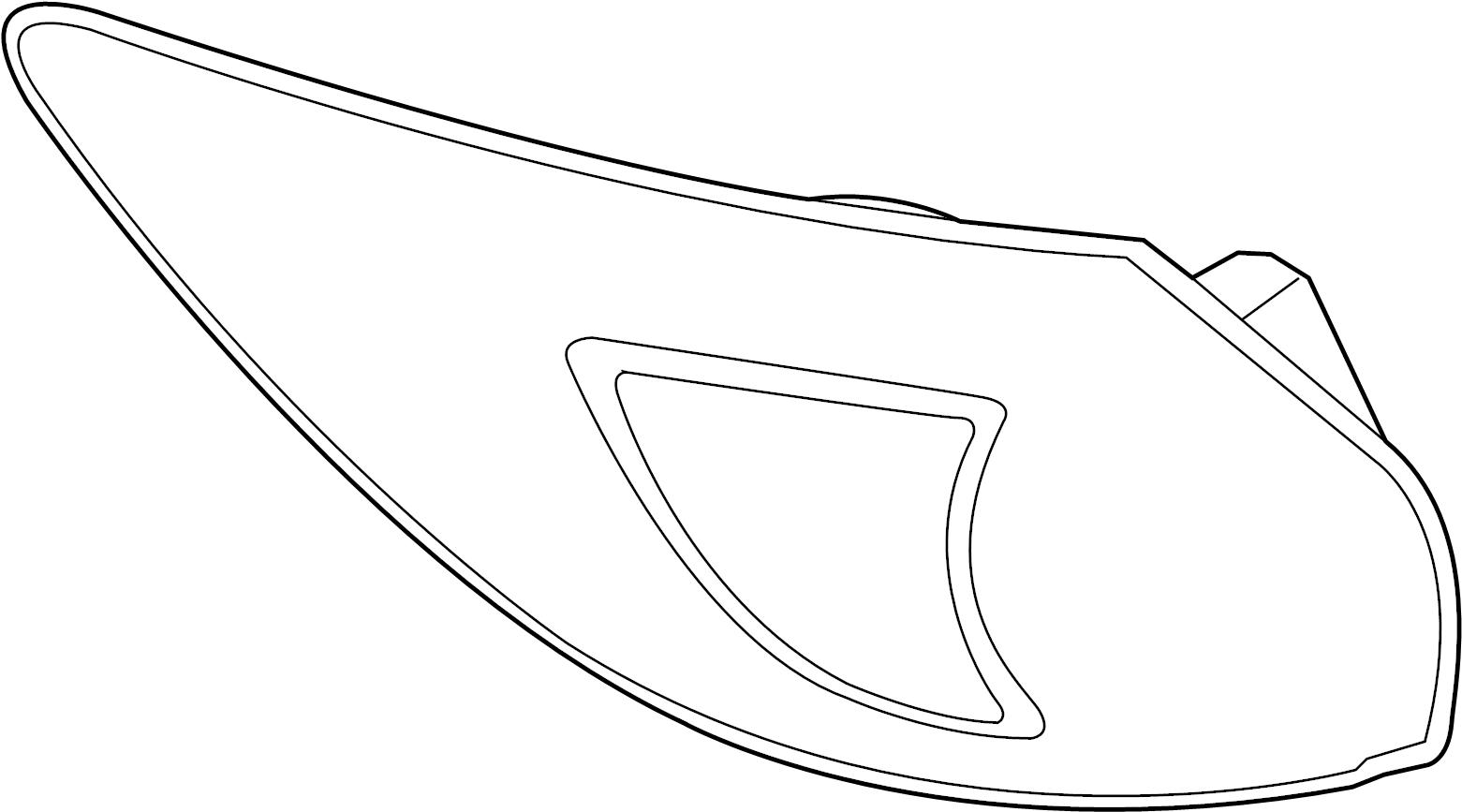 Mazda Cx 5 Lamp Left L Tail Rr Light Assembly