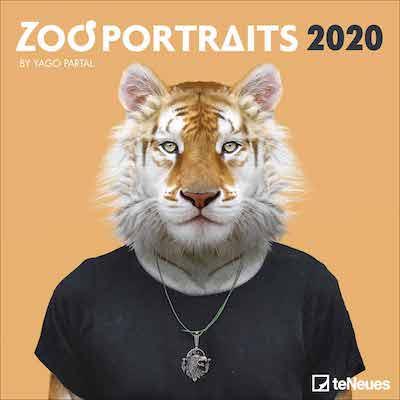 Calendario Zoo Portraits 2020