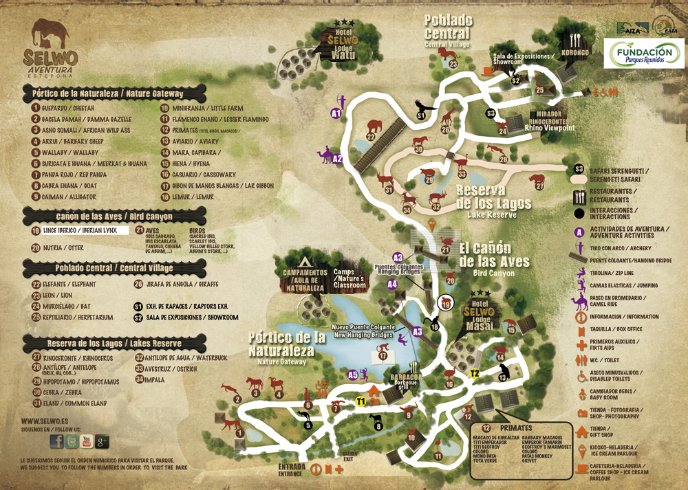 Slovakia Map Attractions