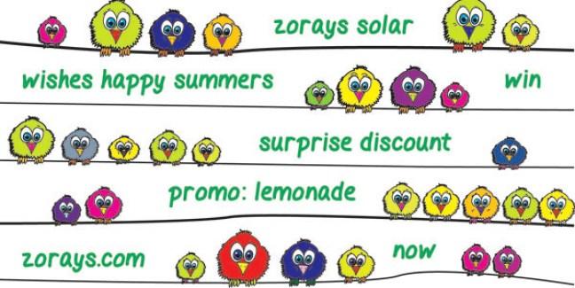 Zorays Solar Lemonade
