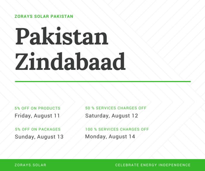 Zorays Solar Pakistan Zindabaad